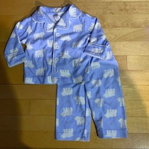 Pyjama set Clouds 3-6 months